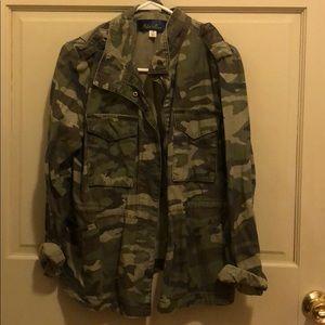 Utility Army Green Jacket